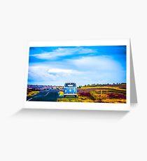 VW Camper Van  Greeting Card