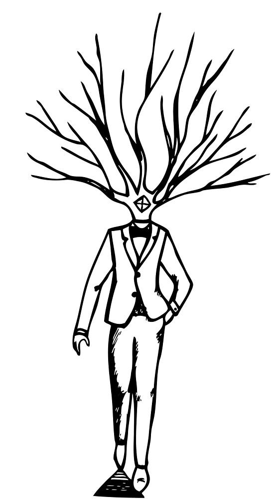 Treehead by UZ Rivas