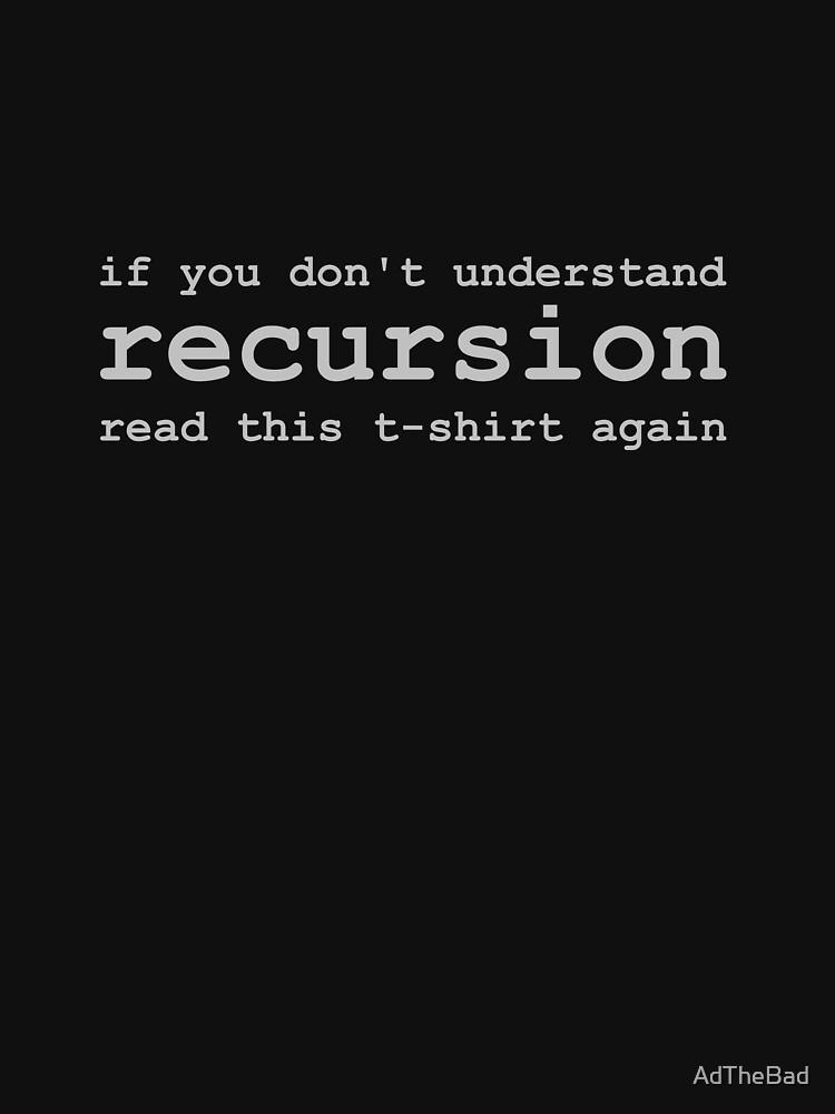 Understanding Recursion | Unisex T-Shirt