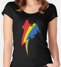 Speedpainting Women's Fitted Scoop T-Shirt