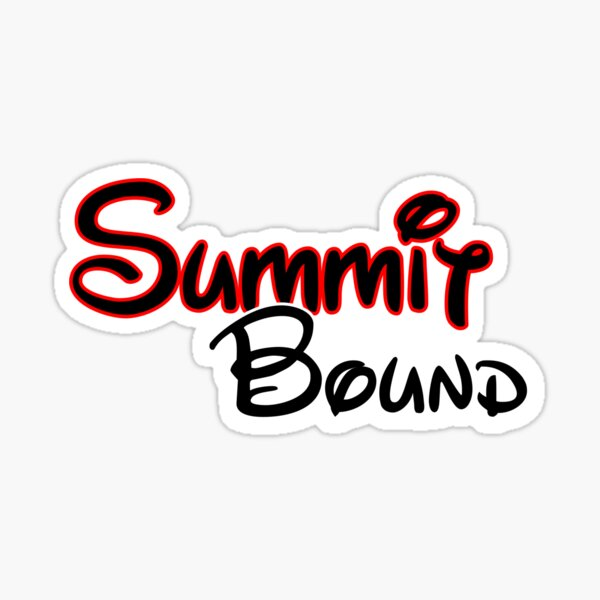 Summit Bound  Sticker