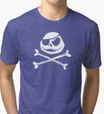 Jolly Jack Roger Tri-blend T-Shirt