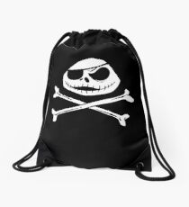 Jolly Jack Roger Drawstring Bag