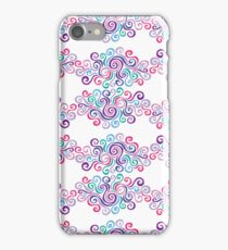 Swirlycules Pattern iPhone Case/Skin