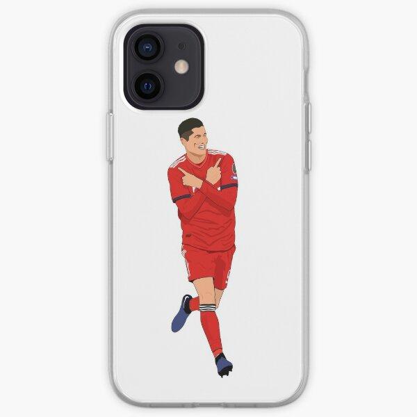 Lewandowski White iPhone Soft Case