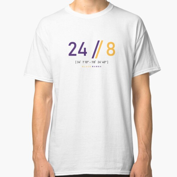 24 and 8 Classic T-Shirt Unisex Tshirt