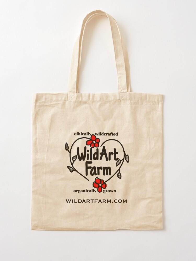 Alternate view of Wild Art Farm Logo Tote Bag