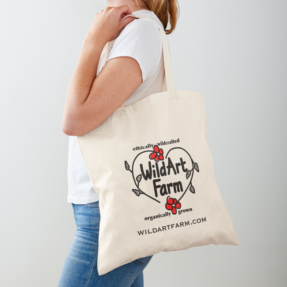 Wild Art Farm Logo Tote Bag