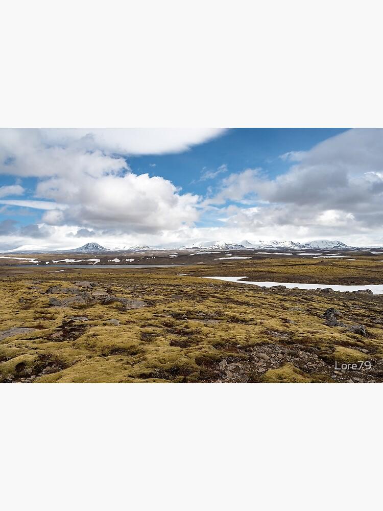 Beautiful landscape along road 52, Uxahryggjavegur, Iceland by Lore79