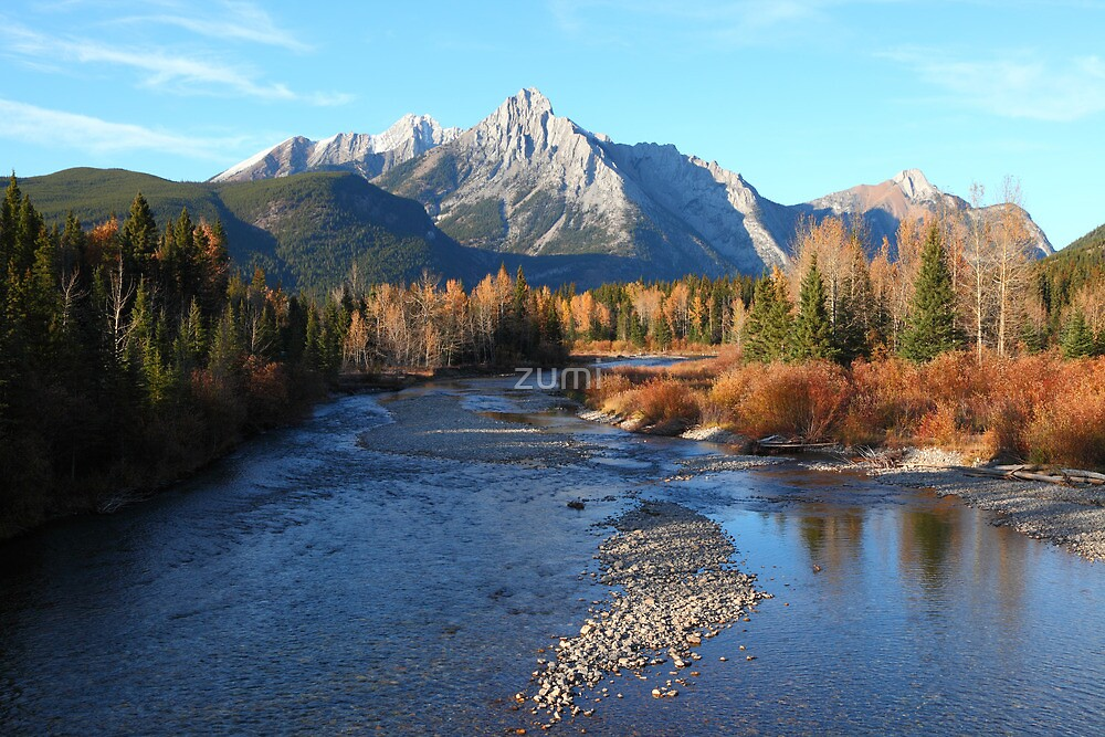 Autumn in the Rockies by zumi