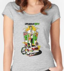 Live and Let Buy Women's Fitted Scoop T-Shirt