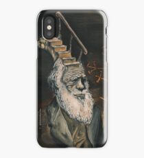 Darwin Took Steps by Glendon Mellow iPhone Case/Skin