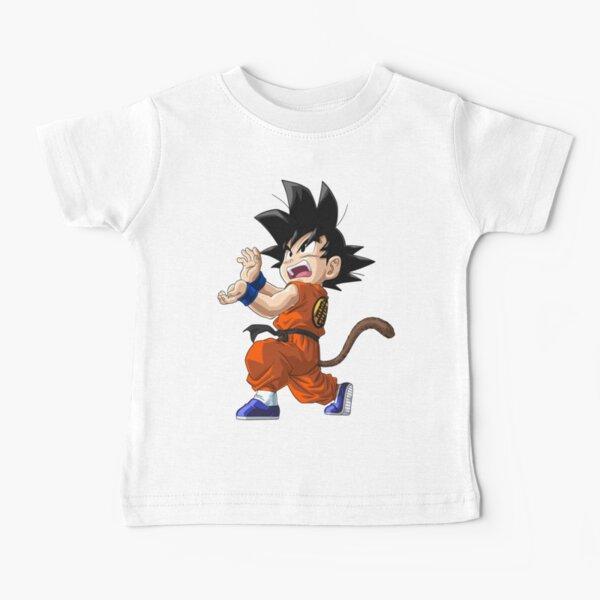 Goku Brust T-Shirt Kinder songoku dragon z ball super saiyan super vegeta japan