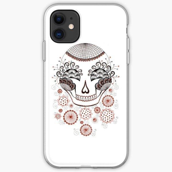 Carnival Skull iPhone Soft Case
