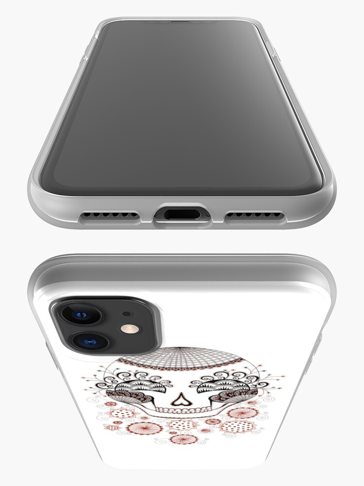 Alternate view of Carnival Skull iPhone Case & Cover