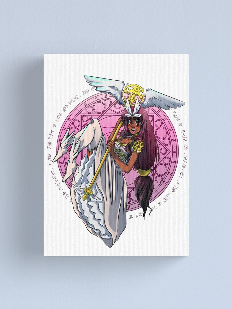 Alternate view of Tiara Guardian of Earth Canvas Print