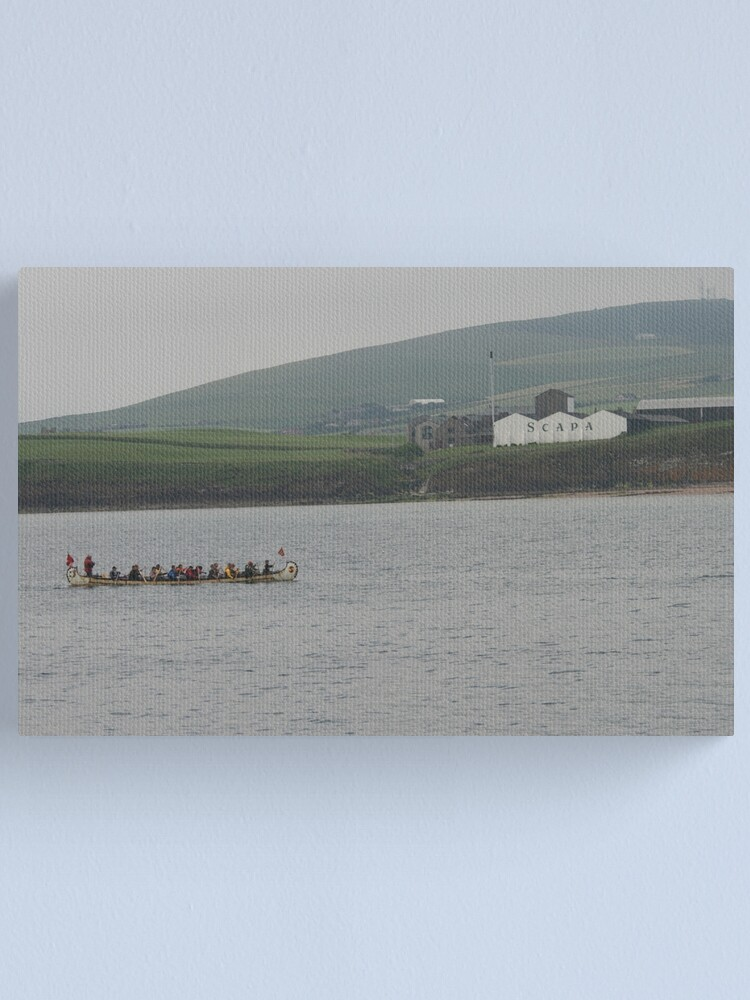 Alternate view of Safely at Scapa Canvas Print