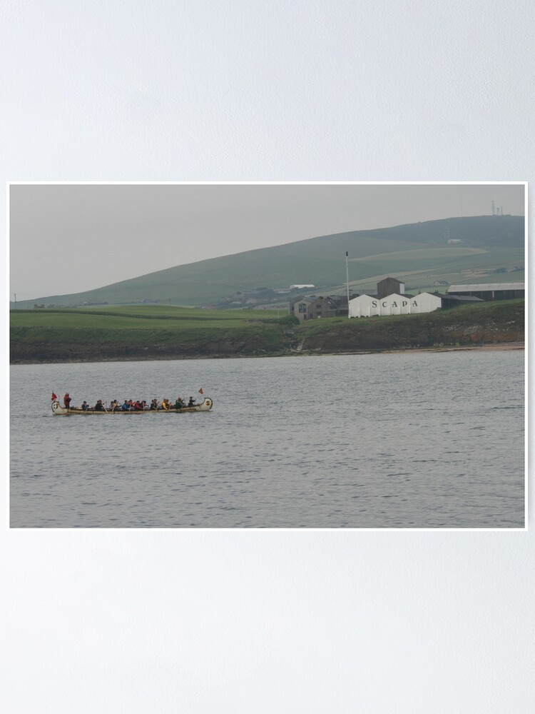 Alternate view of Safely at Scapa Poster