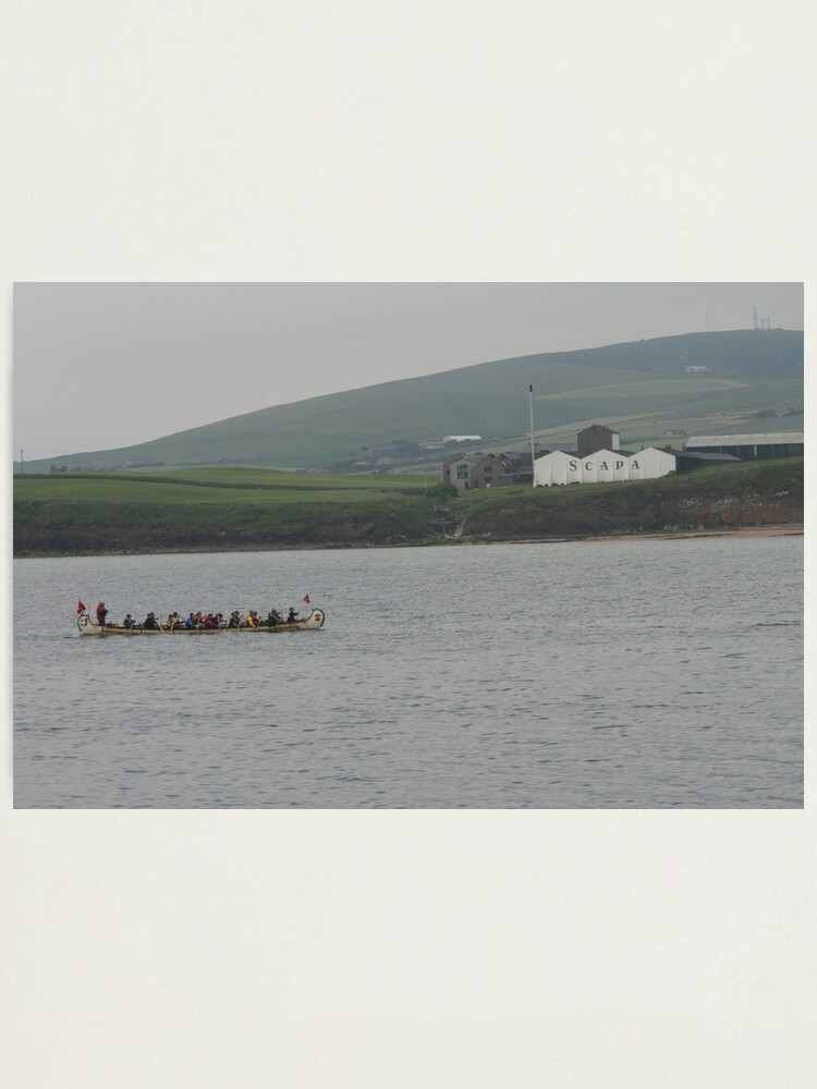 Alternate view of Safely at Scapa Photographic Print