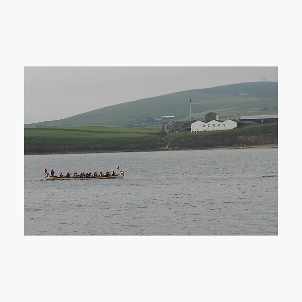 Safely at Scapa Photographic Print