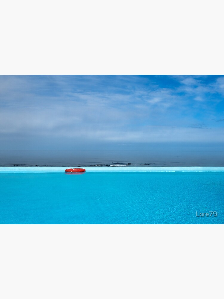 Handsome hot pool with ocean view, Iceland by Lore79