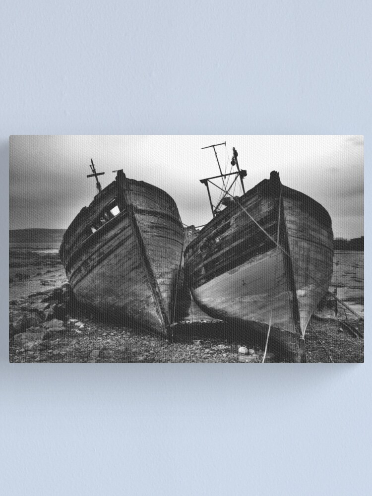Alternate view of Left to decay Canvas Print