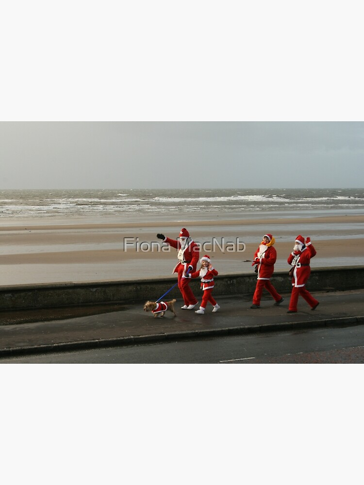 Santas going for a walk by orcadia