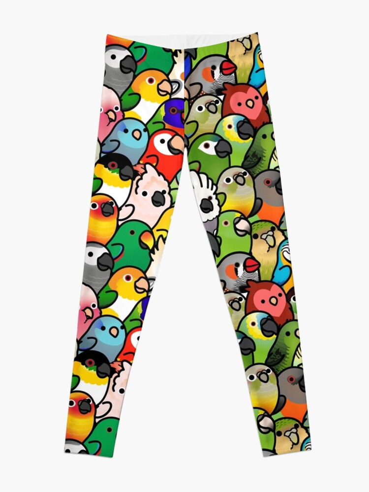 Alternate view of Everybirdy Pattern Leggings