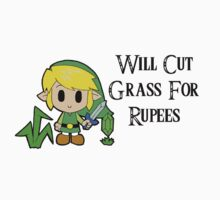 Link Will Cut Grass For Rupees