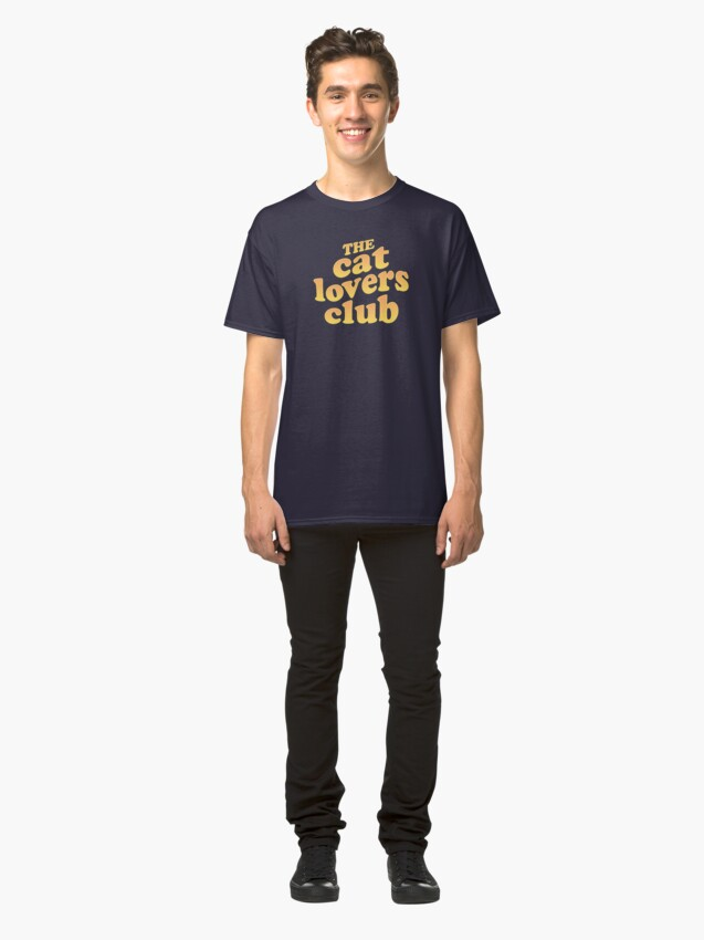 Alternate view of The Cat Lovers Club Classic T-Shirt