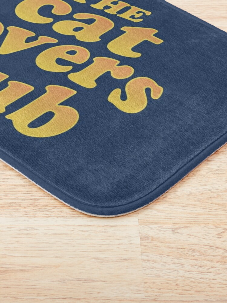 Alternate view of The Cat Lovers Club Bath Mat