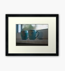 Soft cups Framed Print