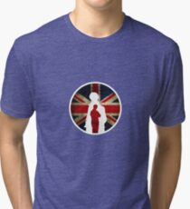Queen and Country II Tri-blend T-Shirt