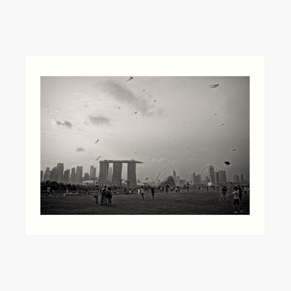 Day of the Kites - Singapore Art Print