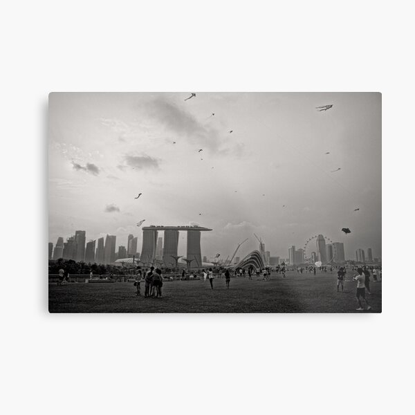 Day of the Kites - Singapore Metal Print