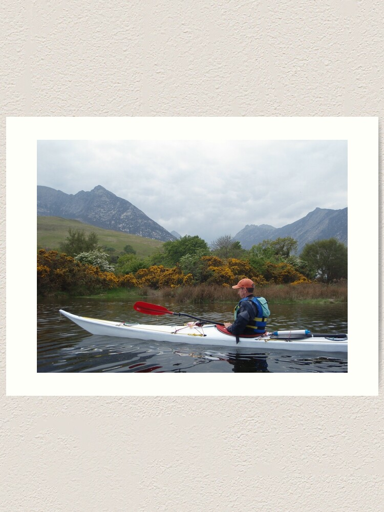 Alternate view of Paddling in Arran Art Print