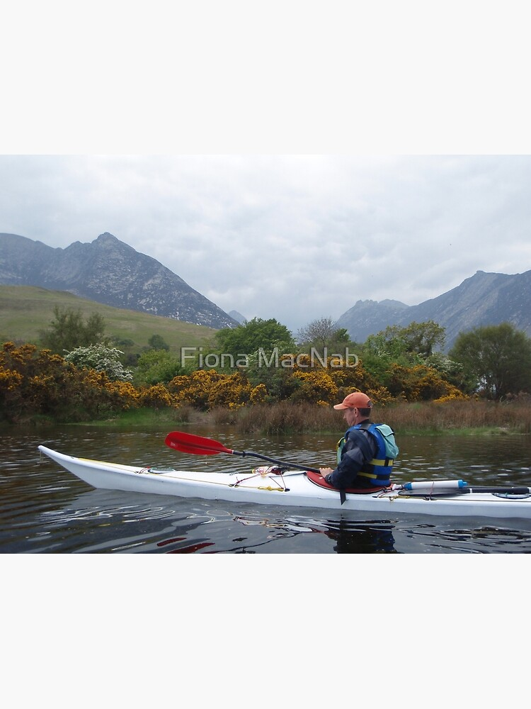 Paddling in Arran by orcadia