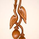 Wooden Spoon & Fork Wall hanging by Teuchter