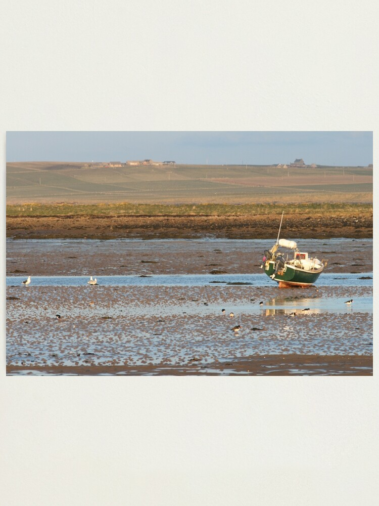 Alternate view of Low tide Photographic Print