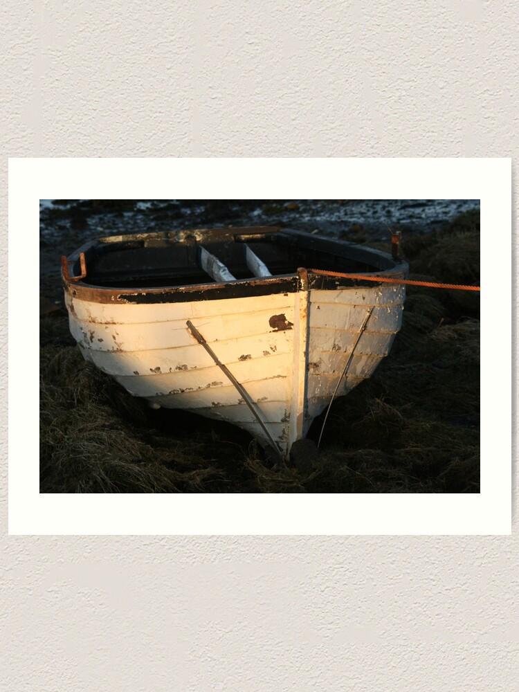 Alternate view of Boat Art Print