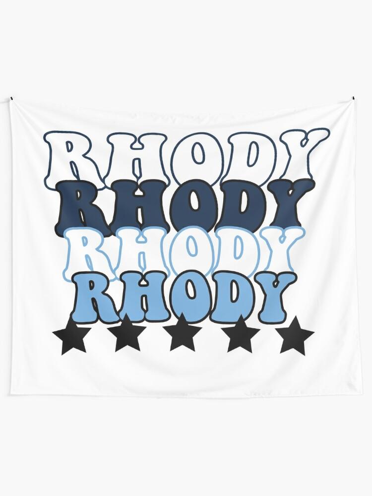 Alternate view of University of Rhode Island Pride Tapestry