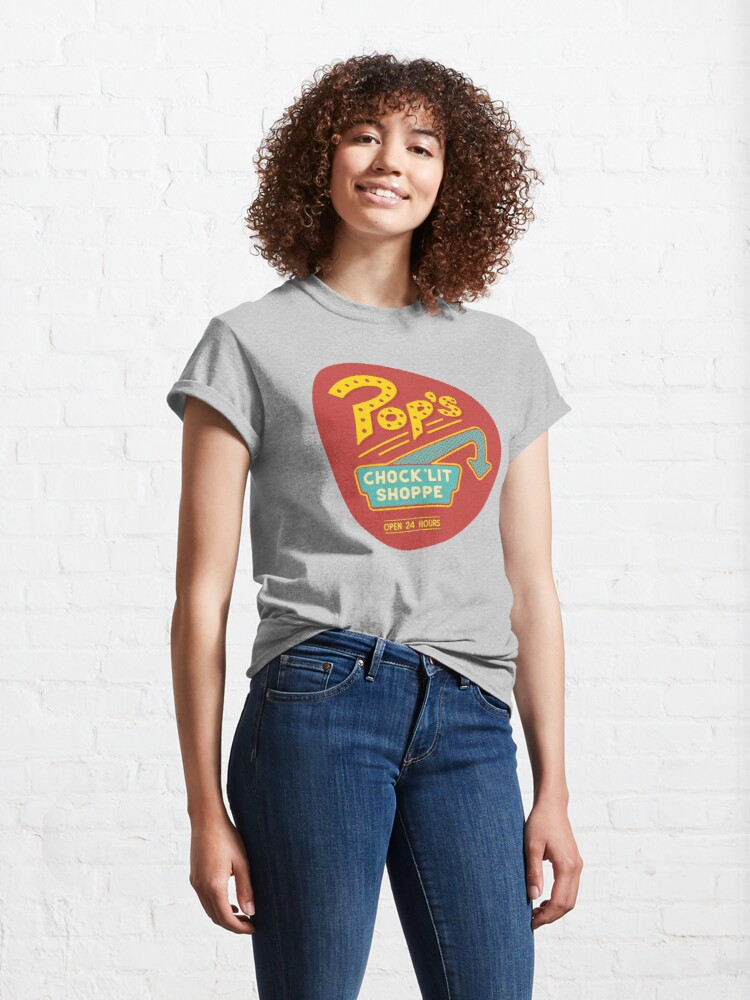 Alternate view of A place to ketchup... Classic T-Shirt