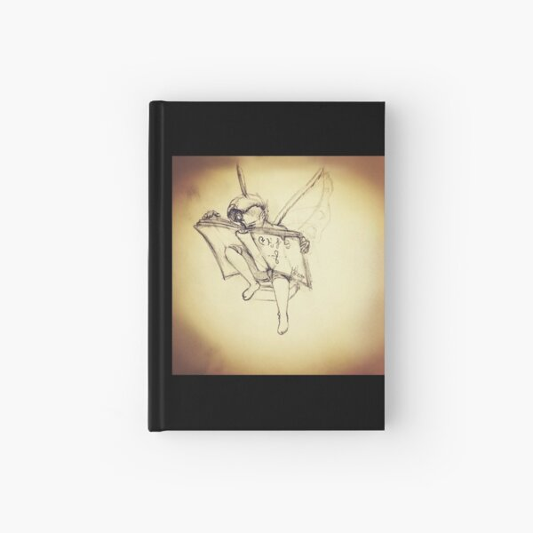 The study of Runes sketch Hardcover Journal