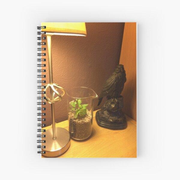 Indoor garden  Spiral Notebook