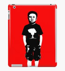 Naughty little Kim Jong iPad Case/Skin
