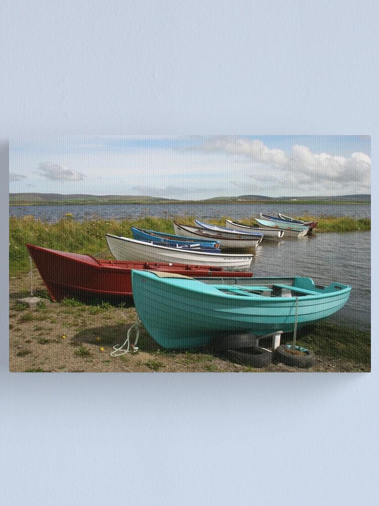 Alternate view of Harray Loch Canvas Print