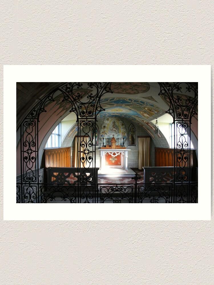 Alternate view of Italian Chapel Art Print