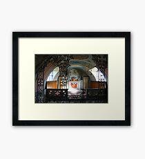 Italian Chapel Framed Print