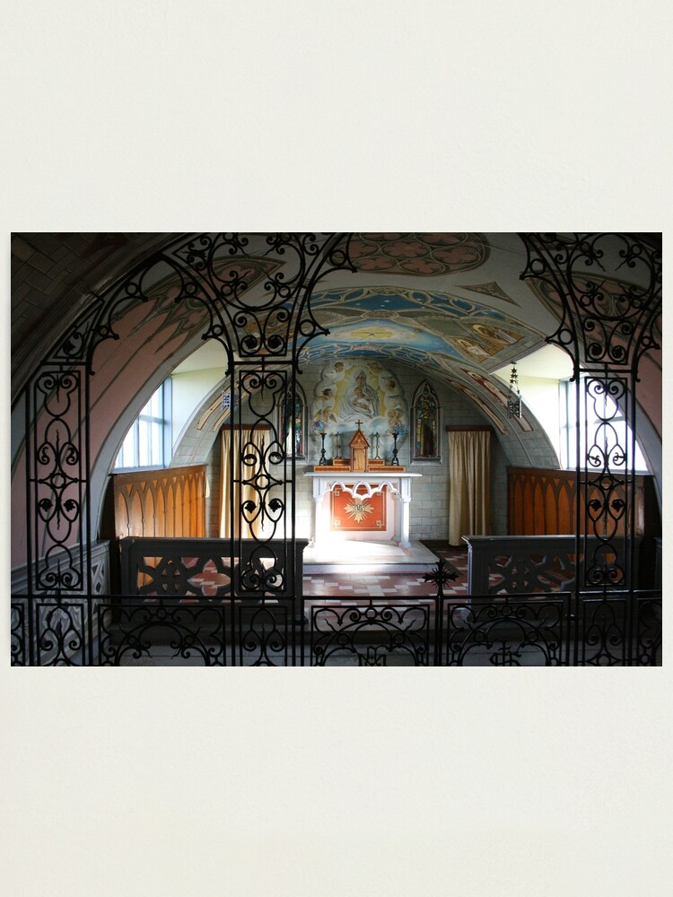 Alternate view of Italian Chapel Photographic Print