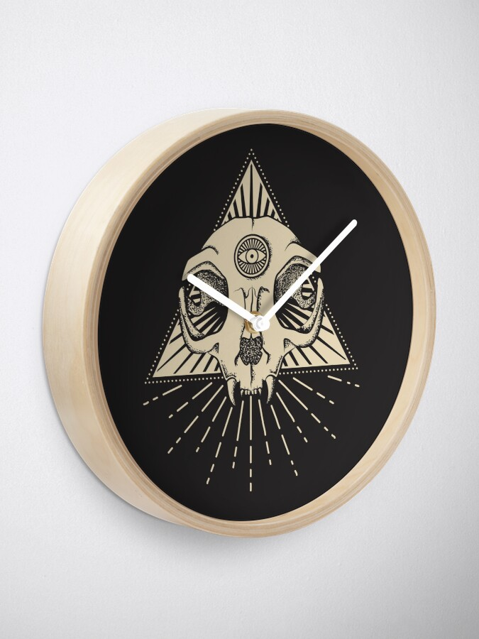 Alternate view of The Secret Cat Order Clock